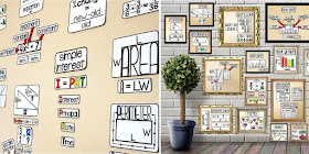 math word walls - print ad digital