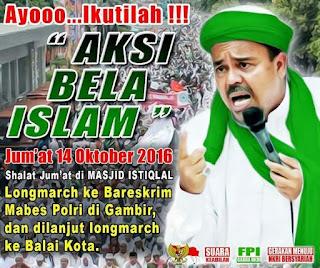 Cara Umat Islam Menyikapi Demo Masal 4 November mendatang