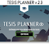 Tesis Planner v2.3  -  SOFTWARE PARA ELABORACIÓN DE TESIS - VARIOS NIVELES
