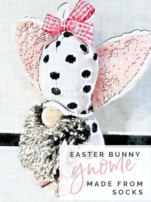 bunny gnome pinterest pin