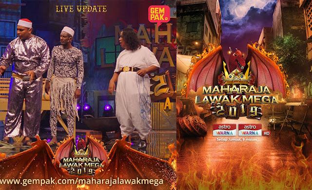 Tahniah PUTEH Memenangi Maharaja Lawak Mega 2019