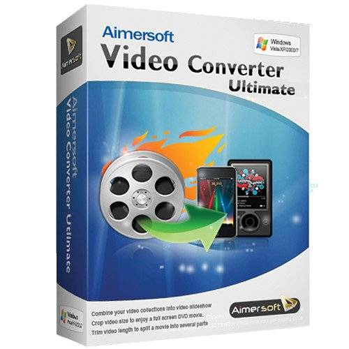 Aimersoft Video Converter Ultimate 11.7.1.4 poster box cover