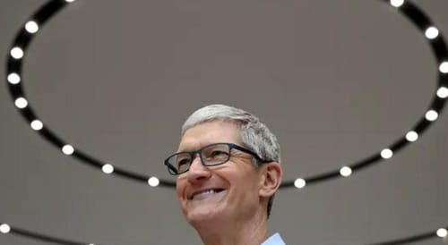 How did Apple thrive under Tim Cook 10 years ago