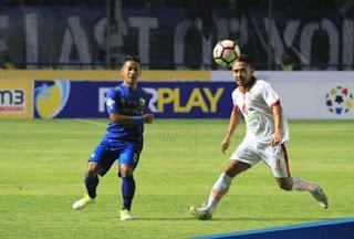 Persib Bandung vs Borneo FC Imbang 2-2