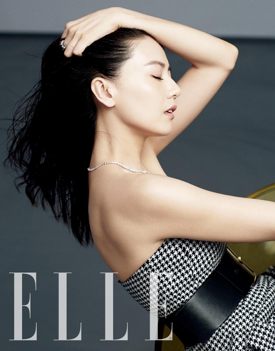 Gao YuanYuan Elle 2014