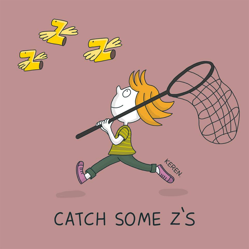 """English is FUNtastic: Meaning of idiom """"catch some z's"""""""