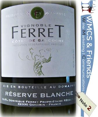 Weinfreunde.de - Test und Bewertung französischer Weißwein