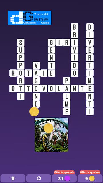 Soluzioni One Clue Crossword livello 9 schemi 7 (Cruciverba illustrato)  | Parole e foto