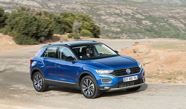 Volkswagen T-Roc 2018, A part of Golf