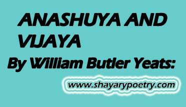 Poem By William Butler Yeats
