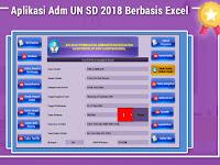 Aplikasi Adm UN SD 2018 Berbasis Excel