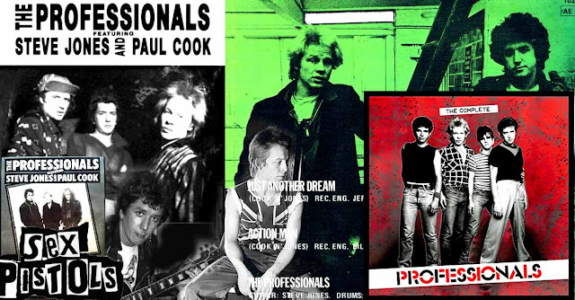 The Professionnals - Ex-Sex Pistols