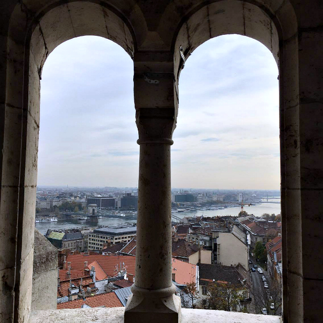 What to do in Budapest? Fisherman's bastion view