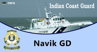 Indian Coast Guard has published an Advertisement for below mentioned Posts.