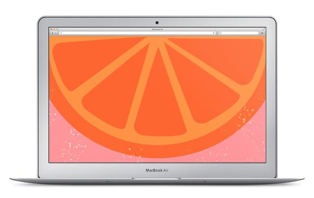 Orange Desktop Design Download | LLK-C.com