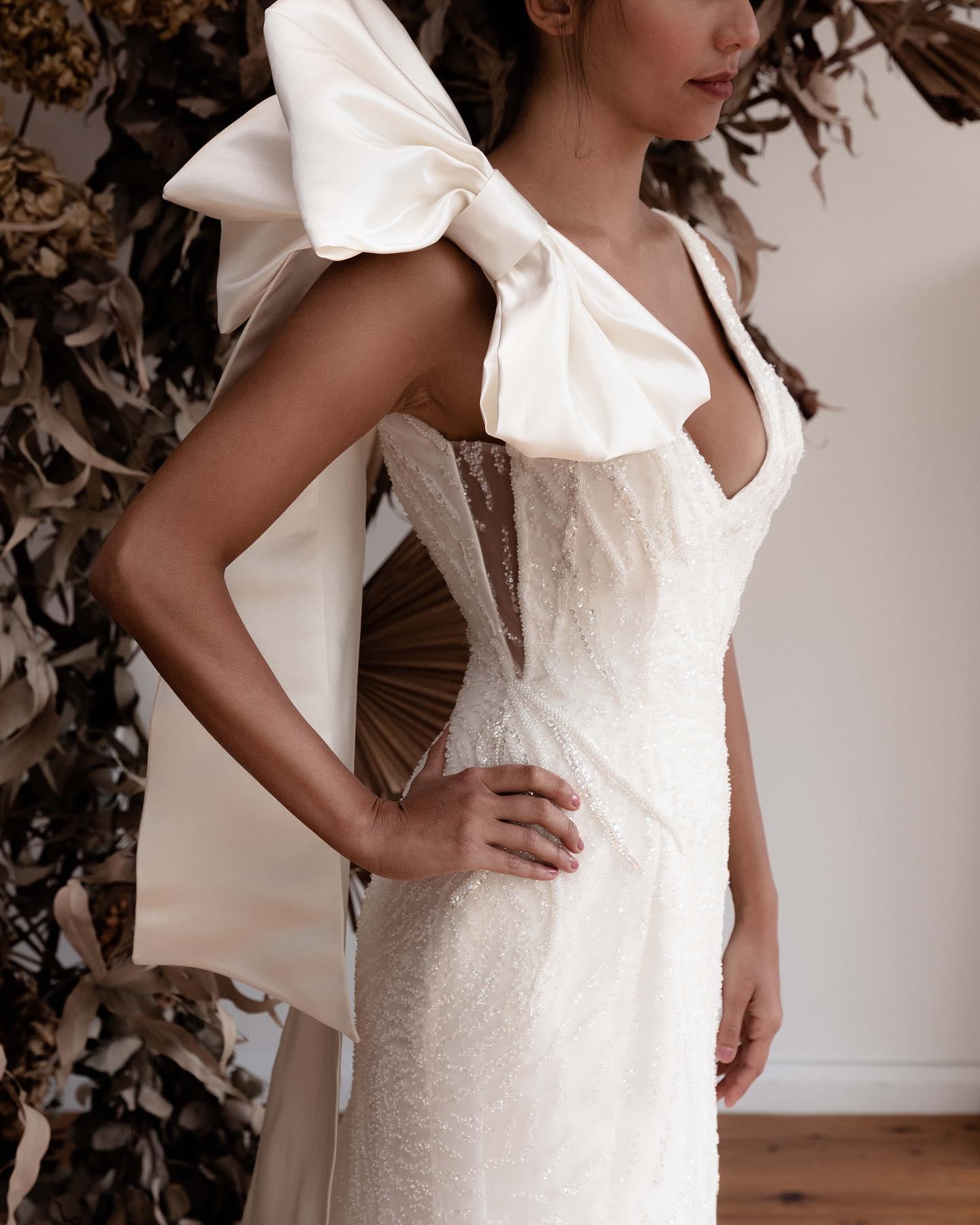 BRIDAL: SANT ELIA BRIDAL COUTURE   SYDNEY WEDDING GOWN DESIGNER NSW