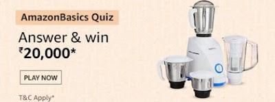 Amazon Basics Quiz Answers