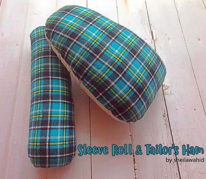 SLEEVE ROLL & TAILOR'S HAM (PRESS MITT)