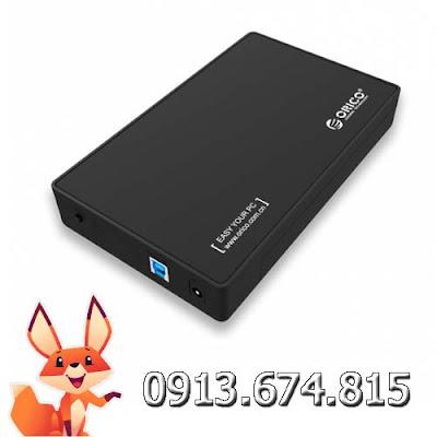 Hộp đựng ổ cứng 3.5 và 2.5in Orico 3588US3