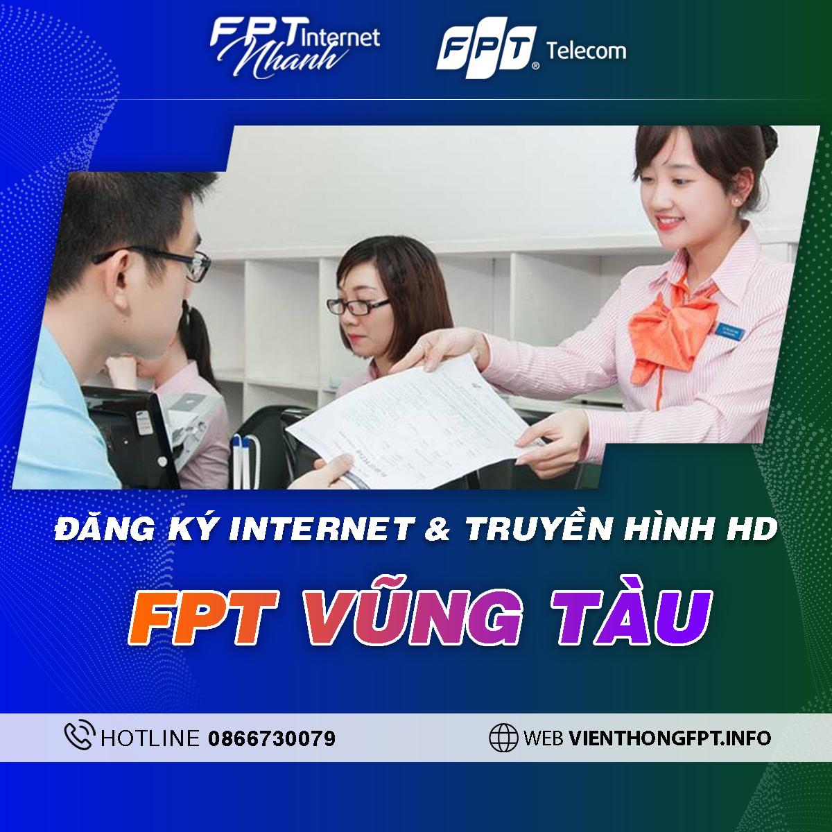 chi nhánh FPT Bà Rịa - Vũng Tàu - Tổng đài lắp mạng FPT Telecom