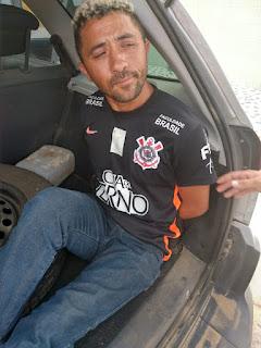 Individuo acusado de roubos e furtos em Cubati foi preso pela guarnição da Polícia Militar