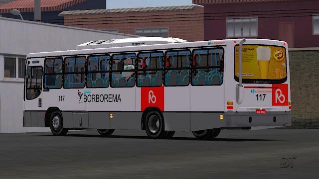 OMSI 2 - Marcopolo Torino 1999 MB OF-1721 no padrão Borborema (Geladão)