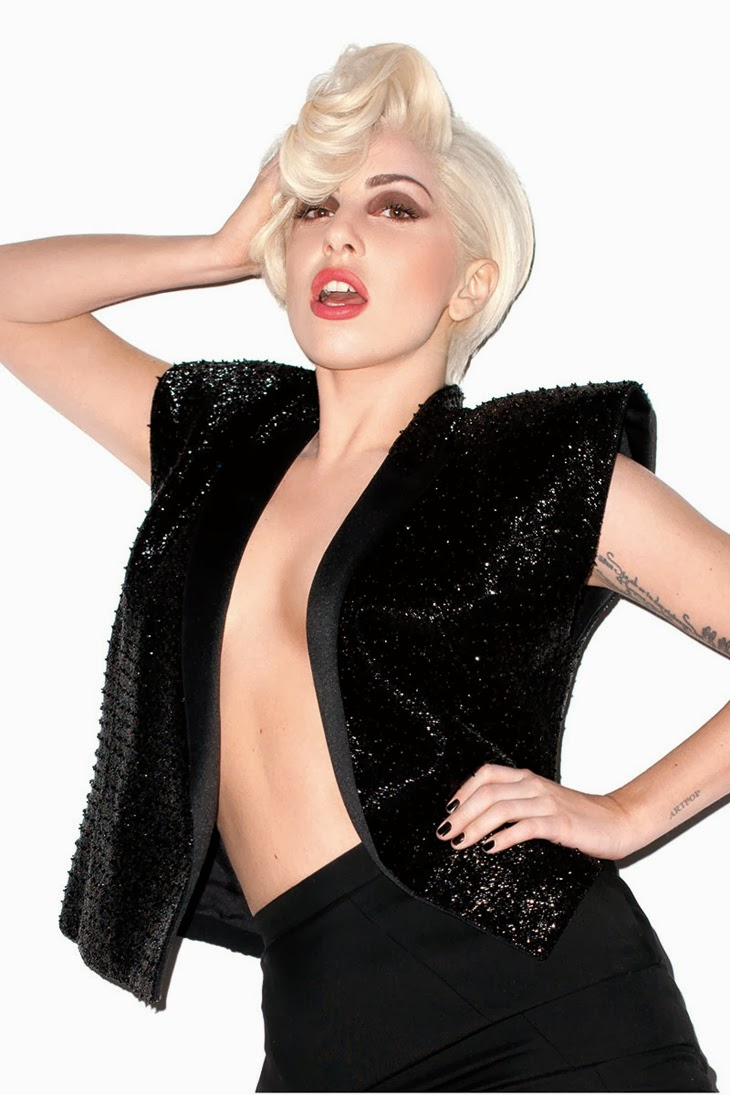 Snapshots: Lady Gaga covers September Icon issue of Harper