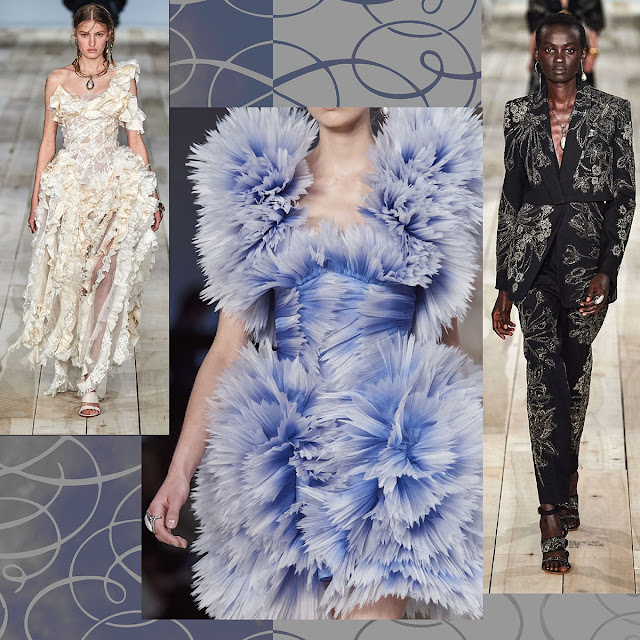 Alexander McQueen Spring Summer 2020 Paris Fashion Week by RUNWAY MAGAZINE