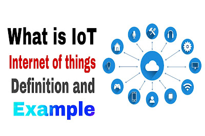 What internet of things definition and example