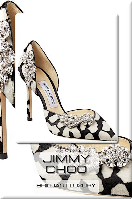 ♦Jimmy Choo Evening Shoes #shoes #jimmychoo #brilliantluxury