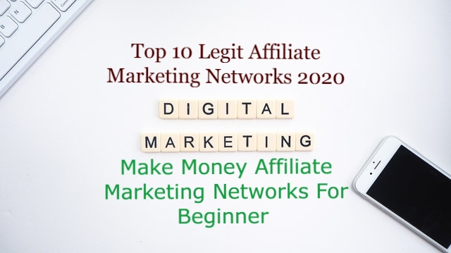 Affiliate Marketing Networks 2021