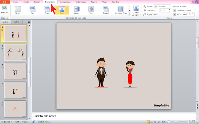 PowerPoint animaties
