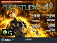 blog.fujiu.jp DAZ Studio のFBXインポート機能を試してみました