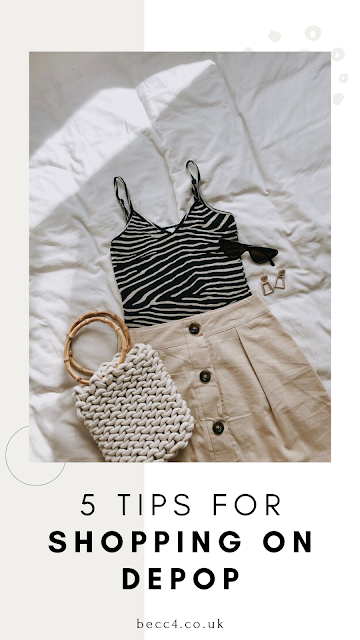5 Tips for Shopping on Depop. My tips for buying second hand clothes online.