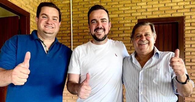 Em Rio Verde Gustavo Mendanha conquista apoio de importantes lideranças da região
