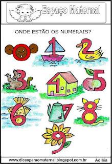 Desenhos com os numerais