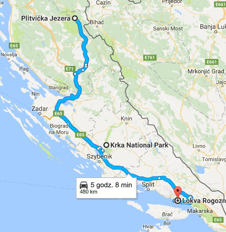 Jak dojechać nad Jeziora Plitvickie?