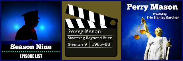 Perry Mason Season Nine Episode List
