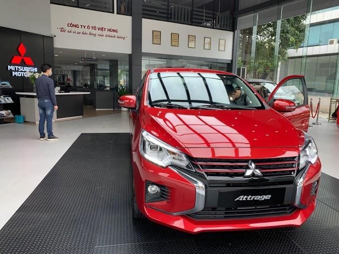 Bảng Gía Mitsubishi Attrage 2020 Tại Đồng Nai