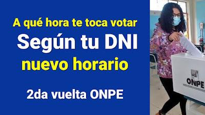 Dónde votar y a qué hora: Consulta tu local de votación aquí vía ONPE