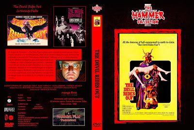 Carátula dvd: La novia del Diablo - La batalla de Satán - The Devil Rides Out