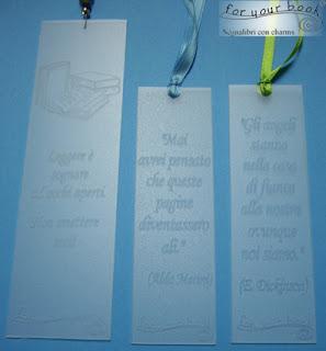 segnalibro personalizzato inciso frasi disegni