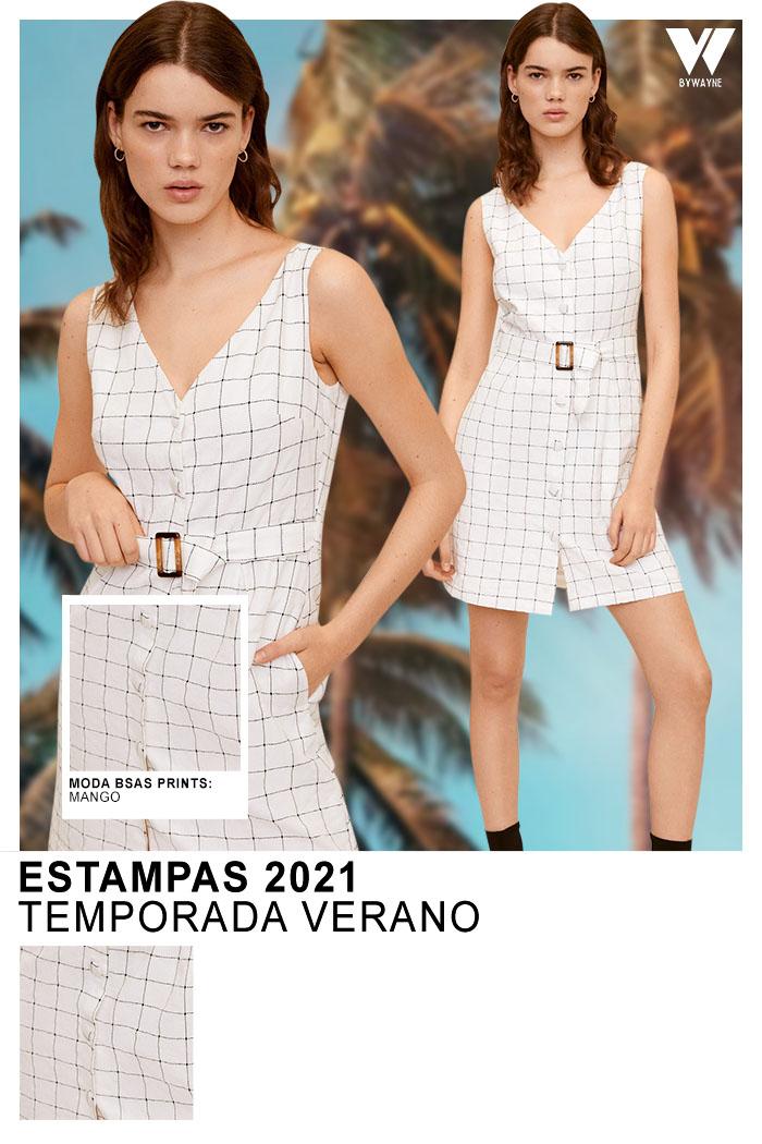 Estampas 2021 Temporada Verano Mango 2021 vestidos