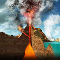 funzionamento di un vulcano visto dall'interno