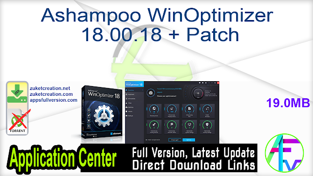 Ashampoo WinOptimizer 18.00.18 + Patch