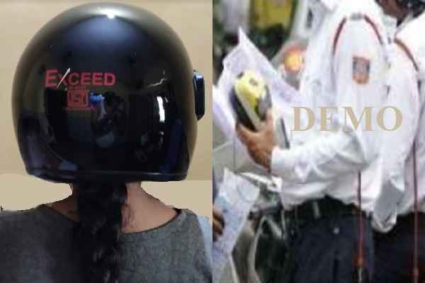 traffic-rule-for-male-female-equal-in-faridabad-bear-helmet-while-riding
