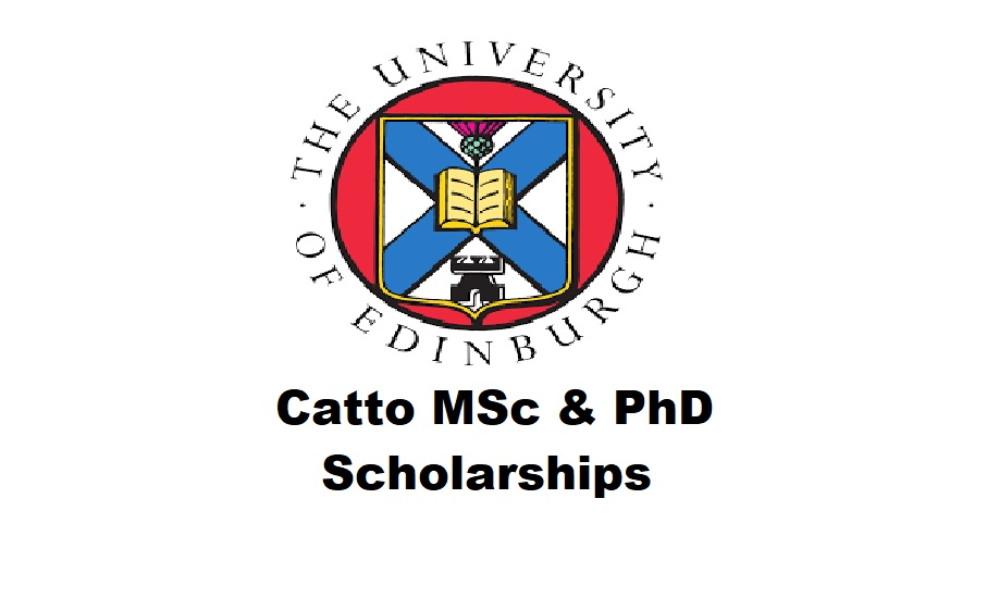 Catto MSc & PhD Scholarships