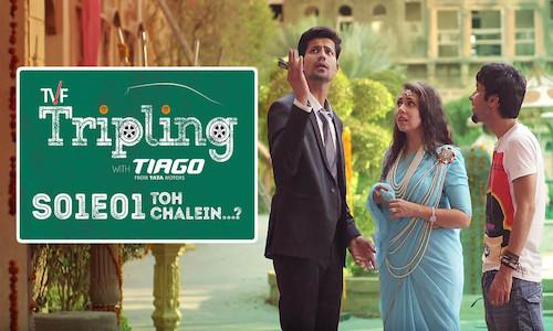 TVF Tripling S01E01 Toh Chalein 720p WEBRip 140mb