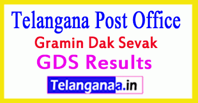 Telangana Post Office GDS Results