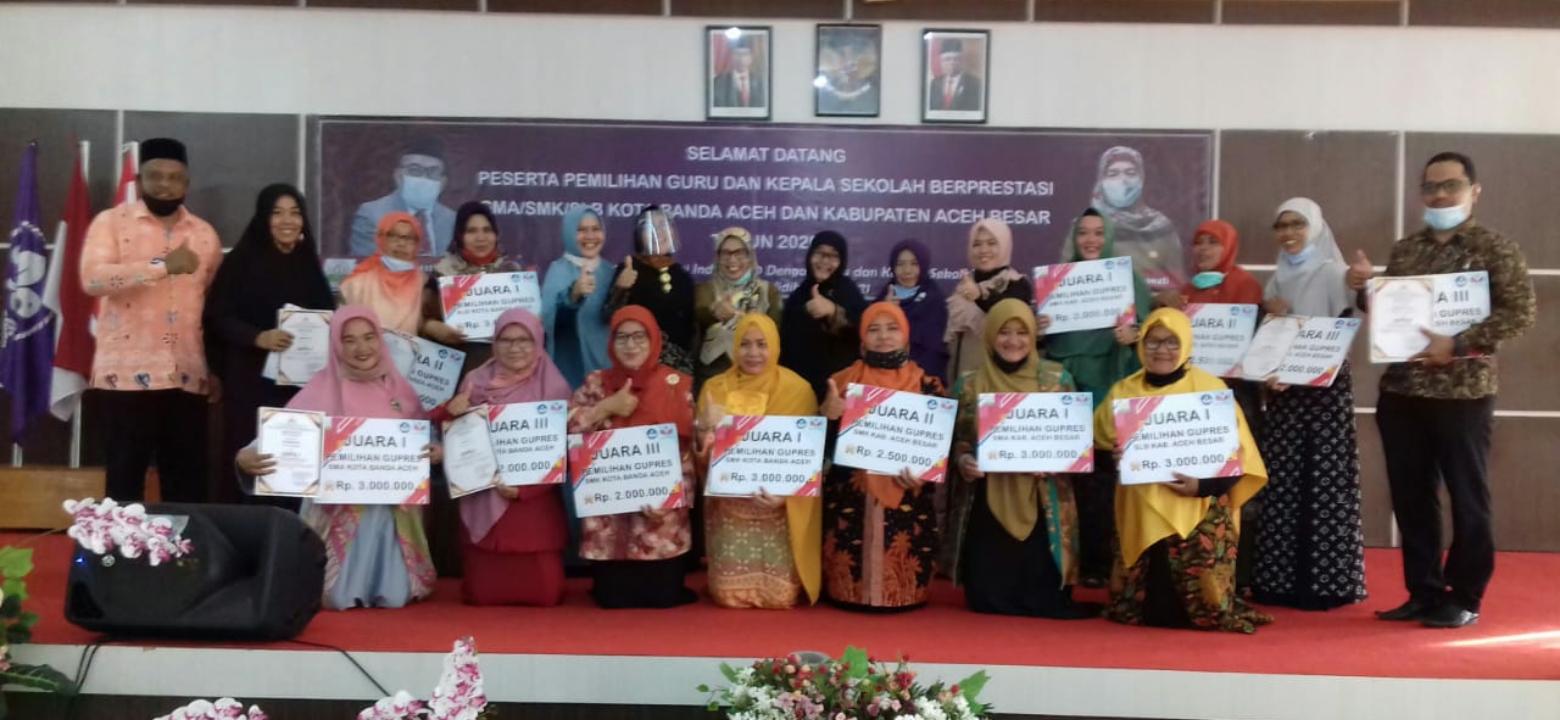 Ini Dia Guru Berprestasi Banda Aceh Dan Aceh Besar Lamuri Online